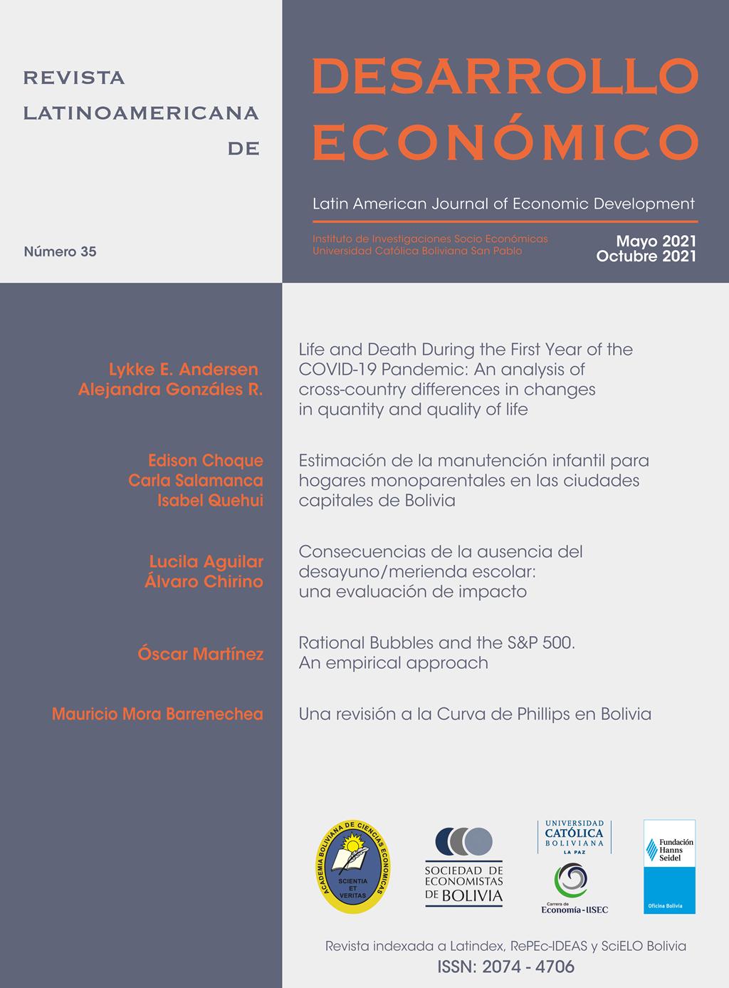Revista Latinoamericana de Desarrollo Económico N° 35